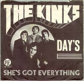 days_the_kinks_single_-_cover_art